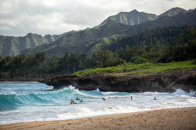 Northern beaches, Hawaii